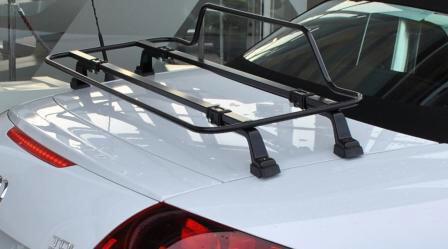Black Car Luggage Rack Audi Tt