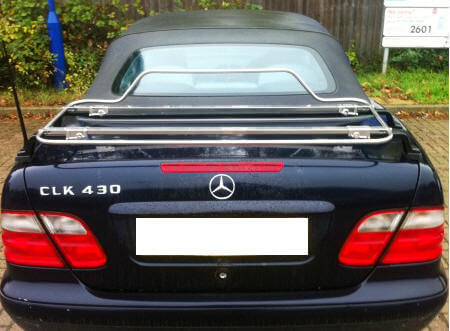 Mercedes benz luggage rack car boot racks luggage for Mercedes benz suitcase