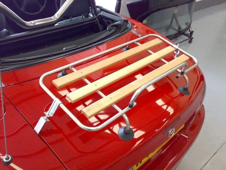 Sports Car Luggage Rack Car Boot Racks Amp Luggage Racks For Convertibles