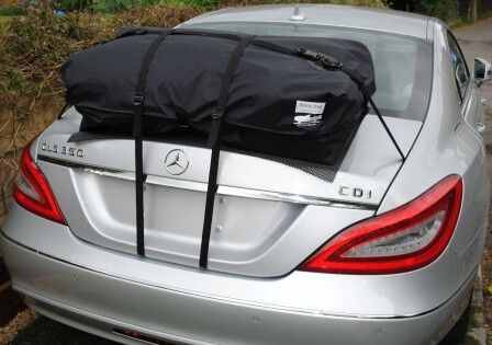 Mercedes Benz Cls Roof Rack Alternative Boot Bag Car
