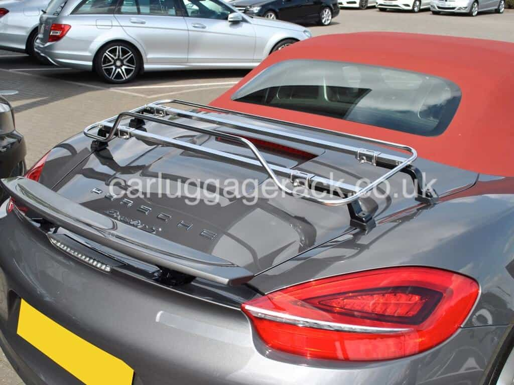 Porsche Boxster Trunk Rack - unique design - Car Boot ...