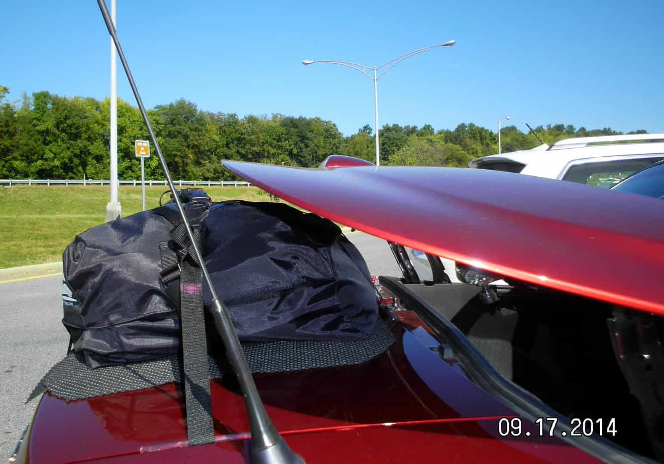 Mazda MX5 MK3 Luggage Rack - Roadster Coupe - Car Boot ...