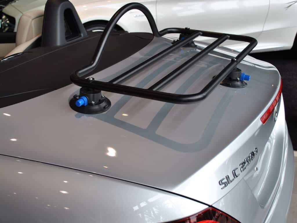 Mercedes Slk Boot Rack Unique Solutions Manufactured By Us